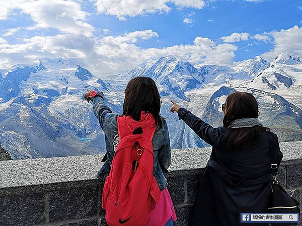 瑞士景點【馬特洪峰Matterhorn】利菲爾湖絕美倒影-搭乘高納葛拉特登山觀景火車欣賞馬特洪峰的千變萬化