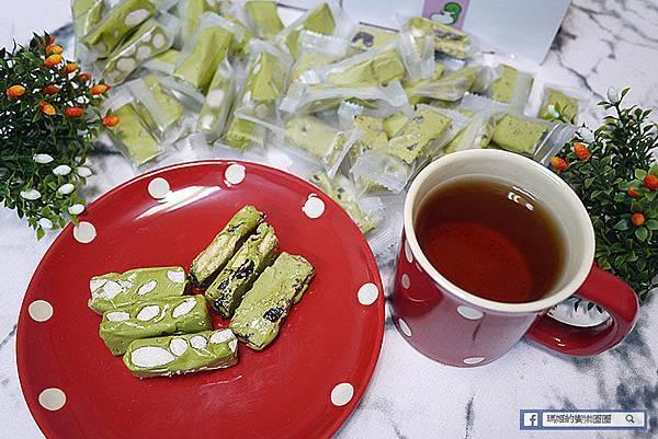 抹茶控必吃【桃之夭夭】抺茶雪花酥/抹茶牛軋糖/團購美食推薦