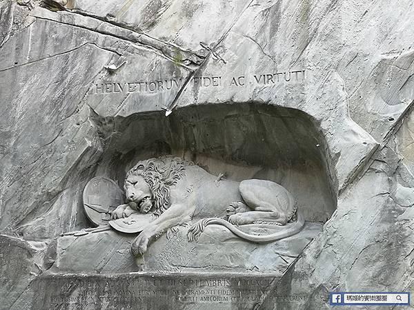 瑞士景點【蜜月之鄉琉森必遊景點】卡貝爾穚/獅子紀念碑/威斯教堂