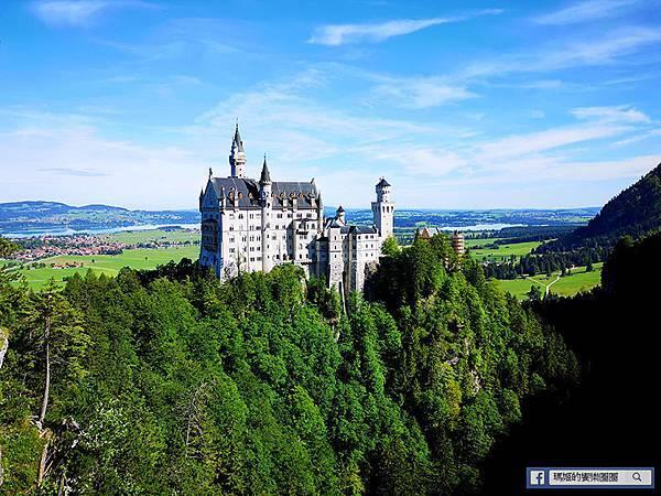 德國景點【新天鵝堡/慕尼黑瑪麗恩廣場】遊客如織的偉大夢幻城堡