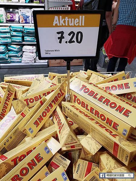 【瑞士必買】COOP超市必逛/瑞士三角巧克力/手錶/瑞士利口樂喉糖