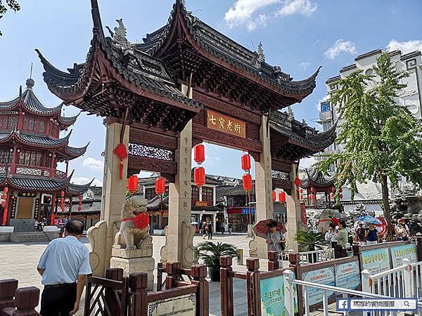 上海景點【七寶古鎮】老上海園林風情巡禮/留連小橋流水美景/七寶教寺/南七寶寺