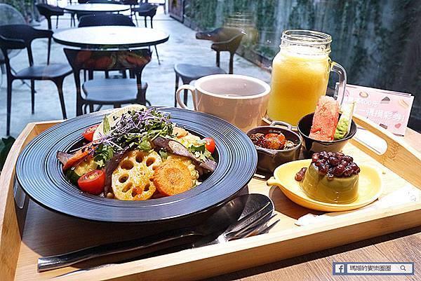 新店素食【Doodle蔬食 嘟斗蔬食】年輕人會喜歡的蔬食餐廳/新店七張蔬食/新店七張素食