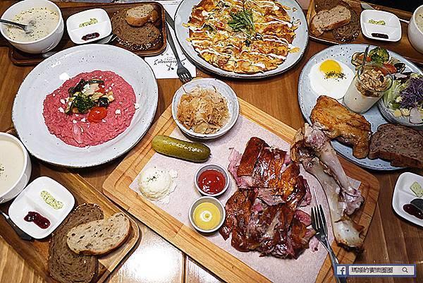 南京復興德國餐廳【舒曼六號餐館Schumann's Bistro No. 6】南德傳統德國豬腳/南京復興異國料理/南京復興早午餐