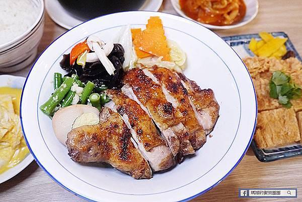 基隆美食【古灶煨烤肉飯】古早阿嬤味的美味烤肉飯/基隆烤肉飯推薦