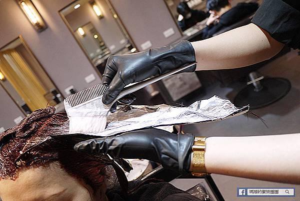 中永和染髮推薦【Wor Hair永和店】染髮1200不分長短/莓果色+玫瑰金挑染髮色/中永和美髮