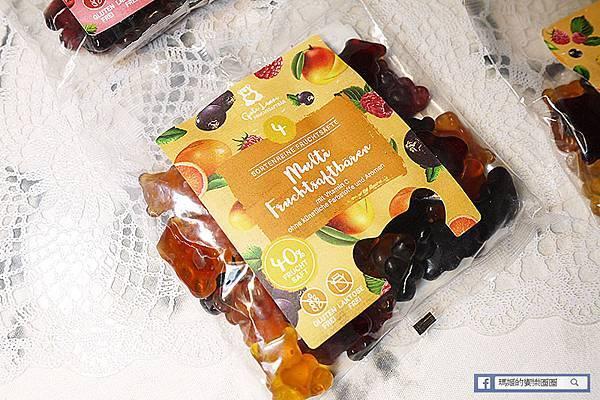 德國必買【Naschlabor德國甜心熊軟糖】德國小熊軟糖-天然果汁製成無添加人工色素/特濃水果/經典水果/熱帶水果/莓果派對/水果軟糖推薦