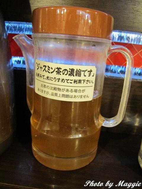 無敵家拉麵-濃縮茉莉花茶