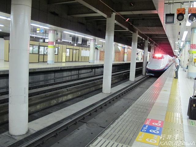 新幹線進站