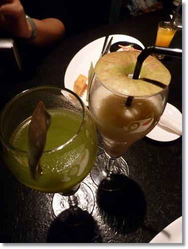 山藥蘋果汁vs石蓮鳳梨汁.JPG