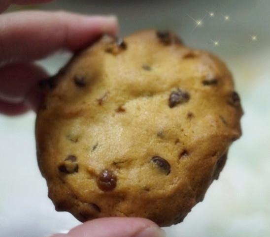 漂亮的巧克力豆餅乾