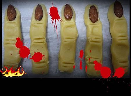 巫婆手指餅乾 02