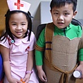 Little Nurse Mina with Turtle Nija Jay