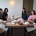 2016/03/06 晶英飯店14樓的下午茶聚餐