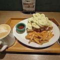 2016/11/02 貓王的最愛 香蕉花生吐司