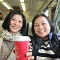 21061225 跟Nana搭火車出發去彰化田中