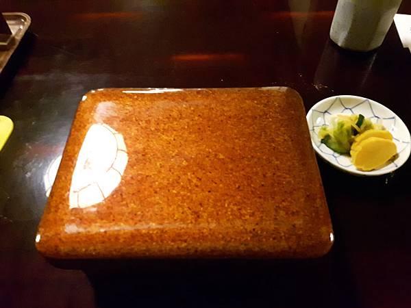 4/21 米其林一星餐廳「尾花鰻魚飯