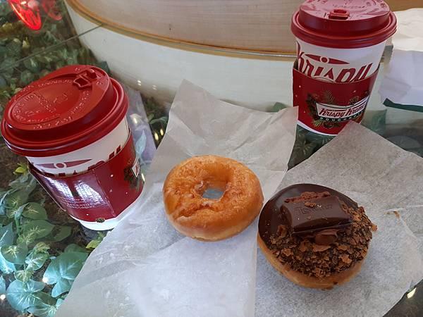 20171229 D-1 非常好吃的Krispy Kreme