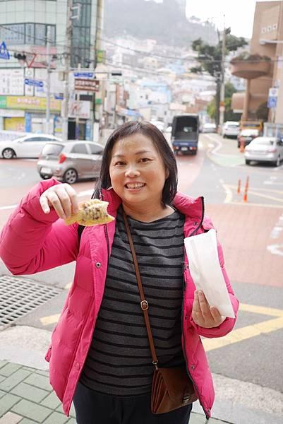 20171230 D-2 往甘川洞文化村 沿路吃吃喝喝