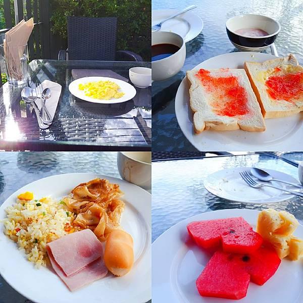 20180706 飯店付錢吃早餐