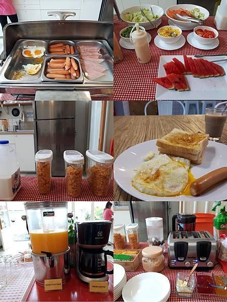 2018 0708 青旅 有附免費早餐