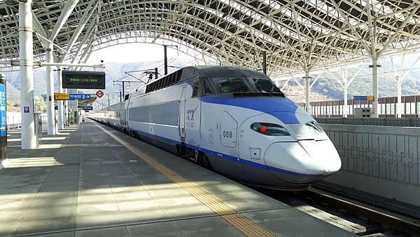 20181023 高鐵到慶州了