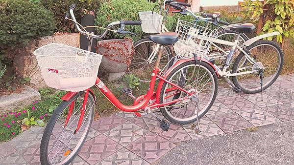 20181023  Motel內的腳踏車出租