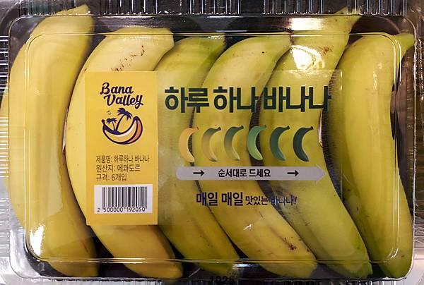 20181025 韓國一週香蕉