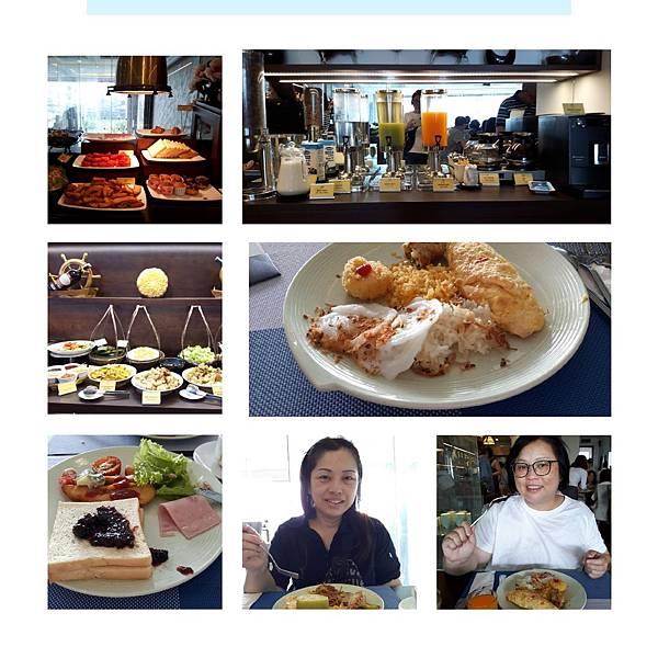 20190405 飯店內提供早餐