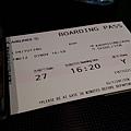 20191101 早早拿到Boarding pass