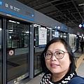 20191101 搭機場捷運去市區