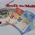 2020/1/6 去銀行把歐元領出來。