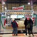 20200108 在英國Victoria Station買美國來的好吃的甜甜圈