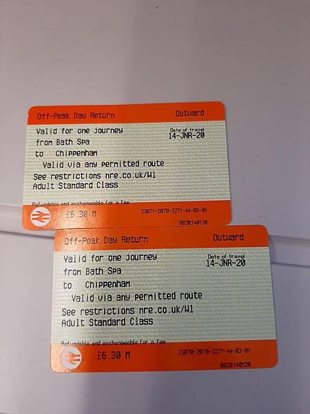 20200114 Day 7 搭火車去Chippenham