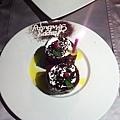 王品慶生贈送小蛋糕 (1)