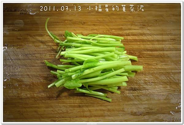 2011.07.13 小福星的莧菜泥 (2).JPG