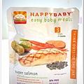 2011.09.01 小福星試吃happy baby鮭魚蔬菜泥 (1).JPG