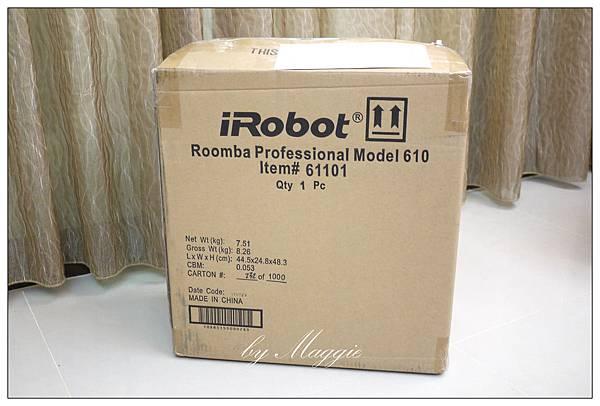 iRobot Roomba 611 開箱 (1)