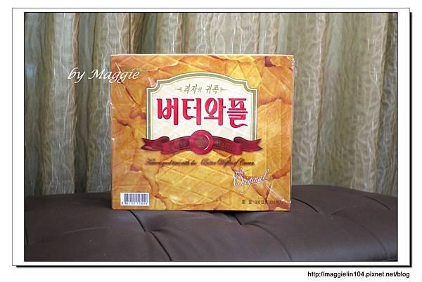 韓國CROWN鮮奶油鬆餅 (1)