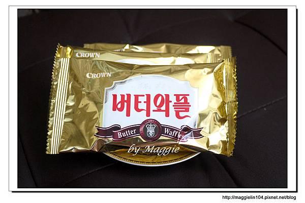 韓國CROWN鮮奶油鬆餅 (2)
