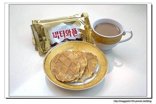 韓國CROWN鮮奶油鬆餅 (4)