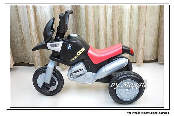 BMW兒童腳踏摩托車 (5).JPG