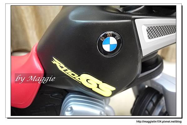 BMW兒童腳踏摩托車 (7).JPG