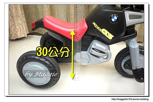 BMW兒童腳踏摩托車 (24).JPG