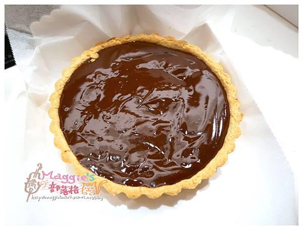 你知我知廚藝學院 深黑苦甜巧克力塔 (48).JPG