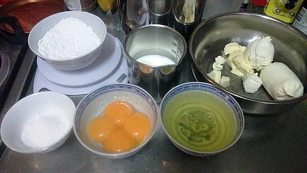 輕乳酪蛋糕材料.JPG