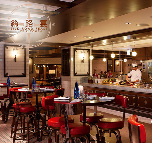 台北威斯汀六福皇宮絲路宴假日午晚餐餐券1159元