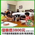 東森山林寵物房3800元