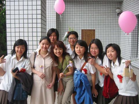 2004夏天 我們畢業了 再見 中和高中