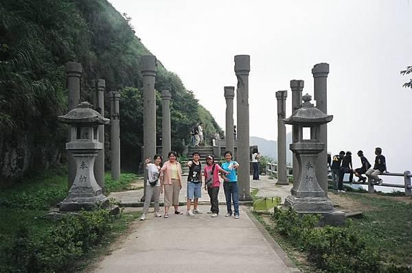 黃金神社的 ruins